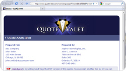 QuoteValet-Screenshot-IE